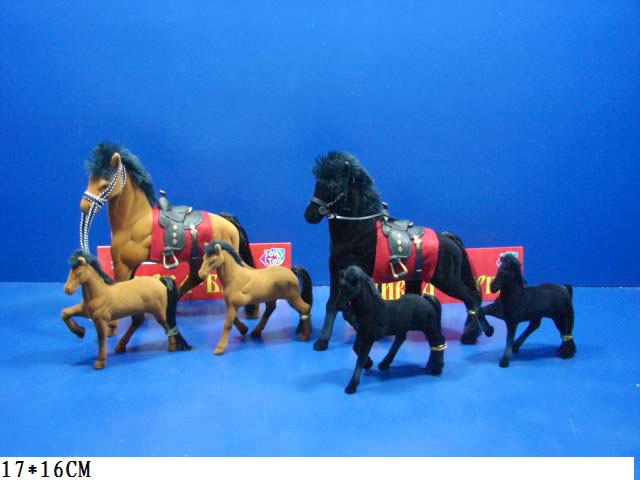 **Набор лошадок»Сивка бурка»(Н2548)цена за 3шт.