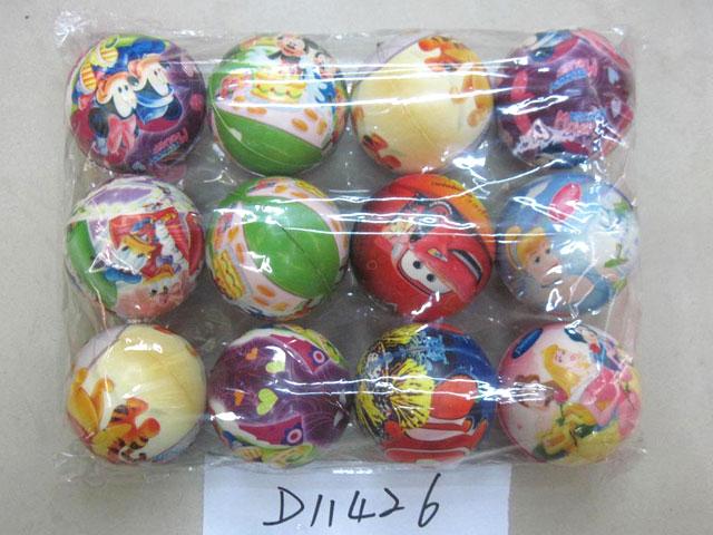 **Мяч дисней.12 шт-по 25руб.(Н11426) Цена за 12 штук.
