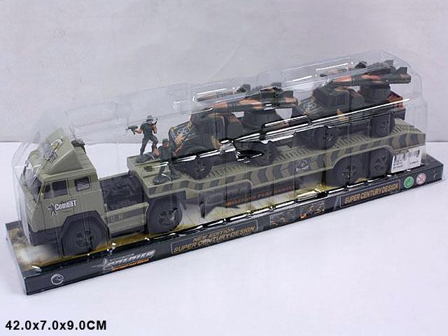 **Трейлер военный с 2 ракетными установками.(В871Д)