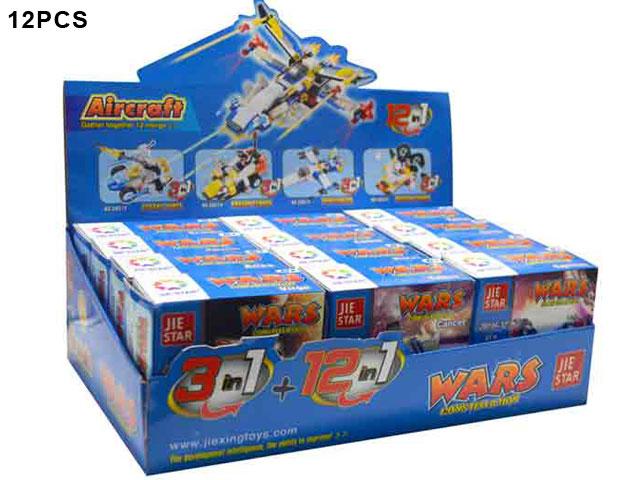 **Конструктор»Самолеты» 12 шт-по 75 руб.(Г28018) Цена за 12 штук.
