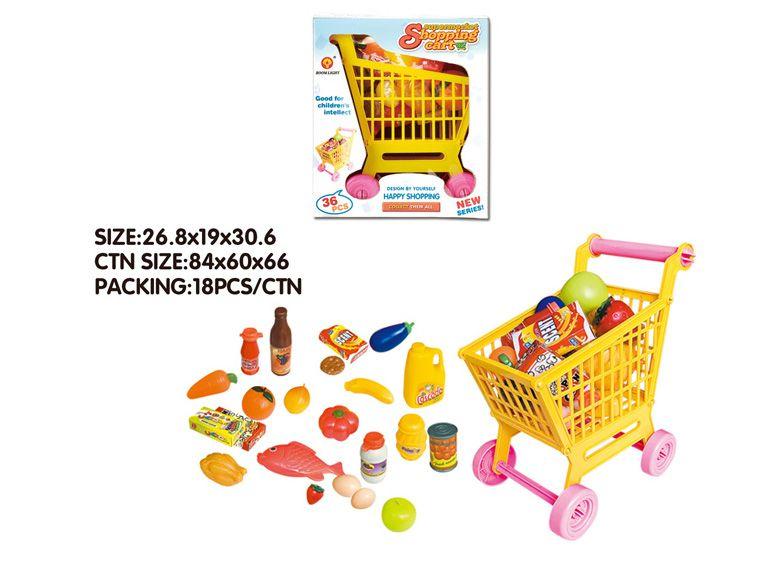 ##Супермаркет,в кор.»Тележка»продукты,аксессуары.(XG2000A