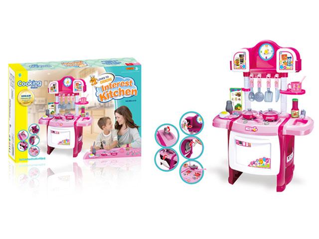 **Кухня детская для девочек.(ДА19)