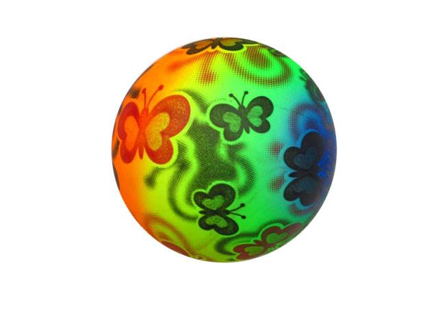 Мячик резиновый»Бабочки»(R11247) 26см.