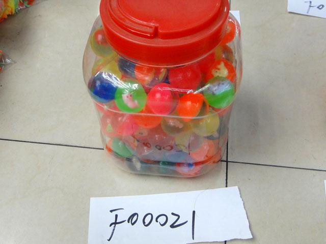 **Мячи прыгуны в банке.2,5см. 100шт-по 5,5 руб.(Н00021) Цена за упак.