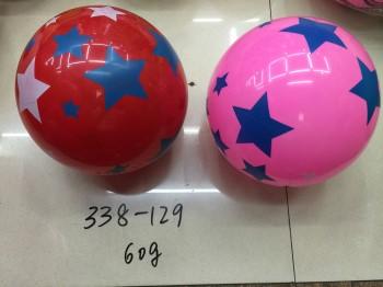 Мяч резиновый»Звезда» 22см.(8129)