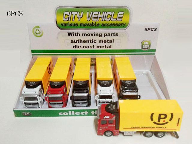 **Машина метало-пластик.6 шт-по 220 руб.(А2211-9) Цена за 6 штук.