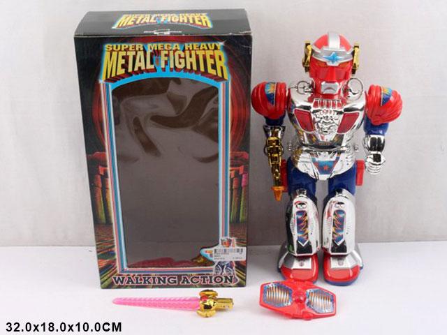 **Робот на батар.свет.звук.(99001)