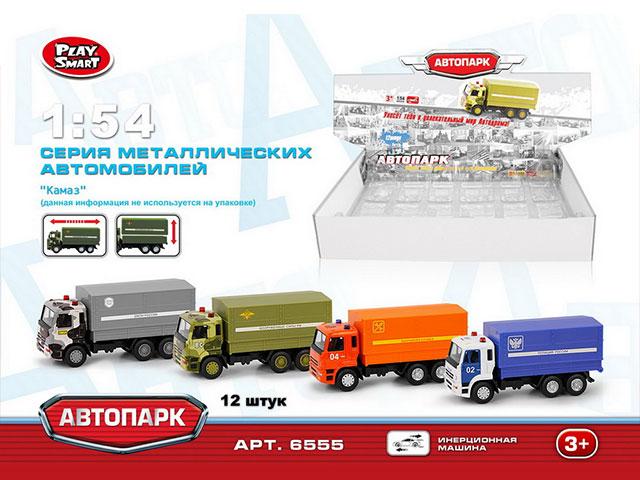 **Машина металл»КАМАЗ»фура.12 шт-по 155 руб.(А6555) Цена за 12 штук.