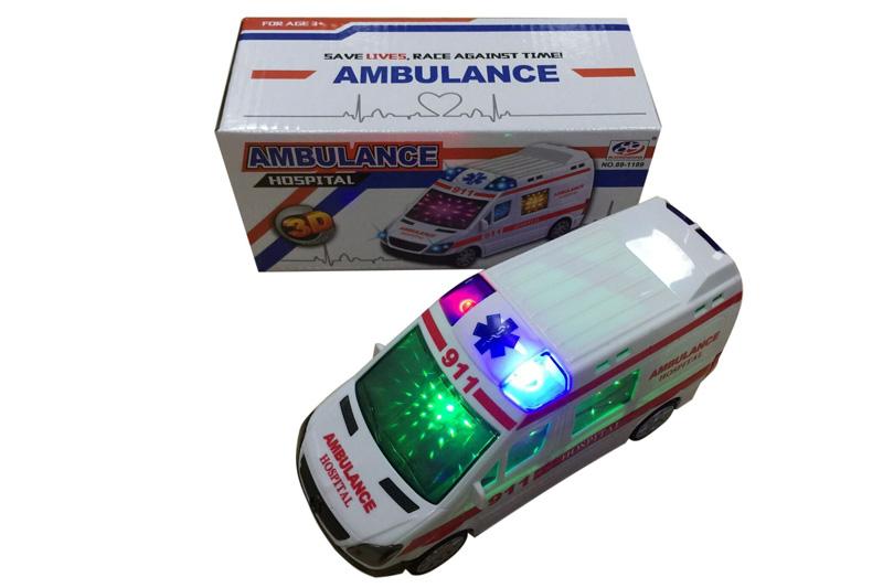 (S)26 Машина на батарейках с 3D светом.(звук) Арт.89-1189