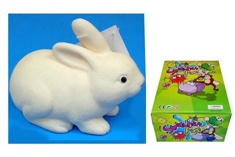 """(П)Резиновые животные.""""Кролик-тянучка""""Арт.A148DB-RABB."""