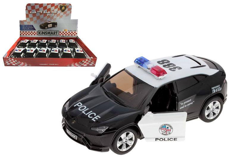 Маш.мет.KT5368DP Lamborghini Police.Размер.12*5см.