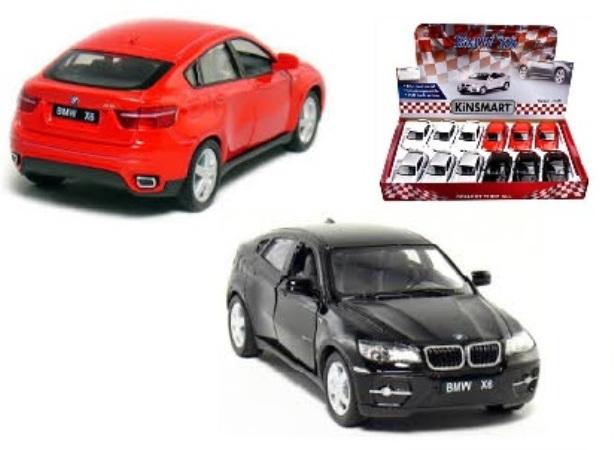 Маш.металл.  KT5336D 5″ BMW X6 . Размер.12*5см.откр.двери.