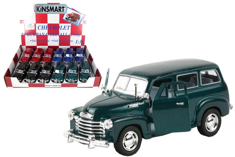 Маш.металл. KT5006D  Chevrolet Suburban Carreall 1950г.Размер.12*5см.откр.двери.