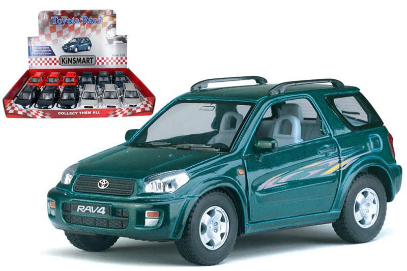 Маш.металл.KT5041D Toyota RAV-4. Размер.12*5см.откр.двери.