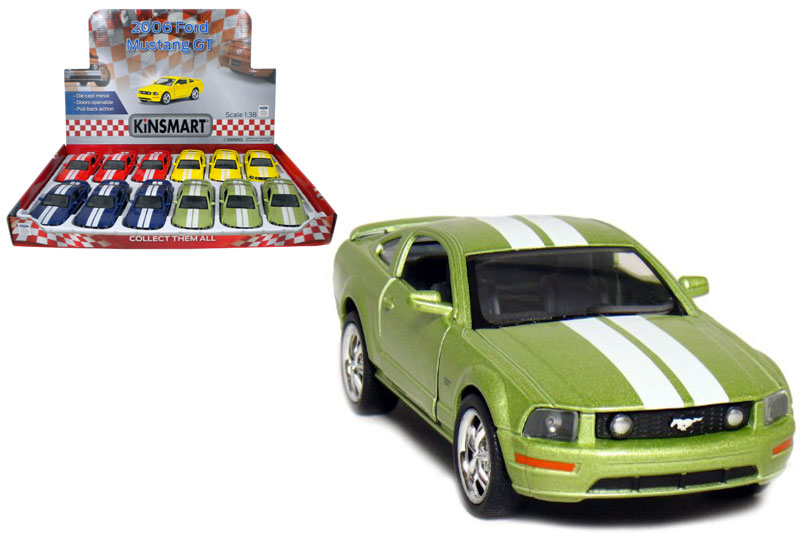 Маш.металл.  KT5091DF  Ford Mustang GT.Размер.12*5см.откр.двери.