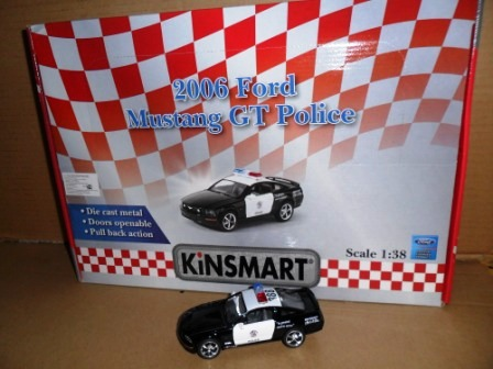 Маш.металл.  KT5091PD  Ford Mustang 2006.Размер.12*5см.