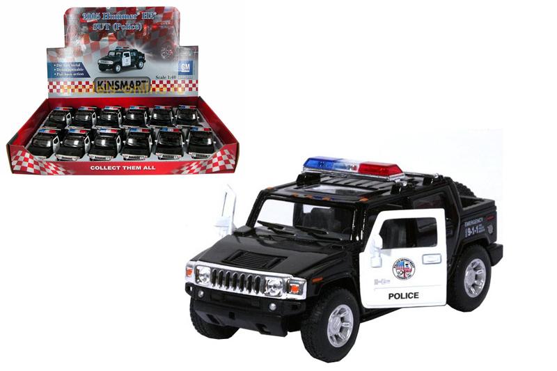 Маш.металл. KT5097DP Hummer H2 (Полиция) Размер.13*5,5см.
