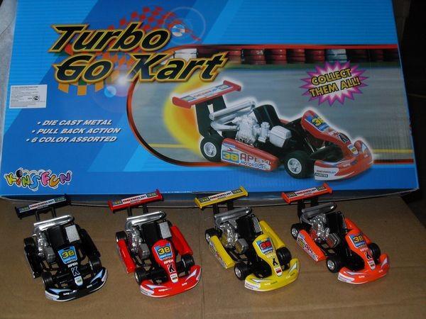 """(П)Маш.металл. """"Turbo Go Kart"""" KS5102D. Размер.13*5.5см."""