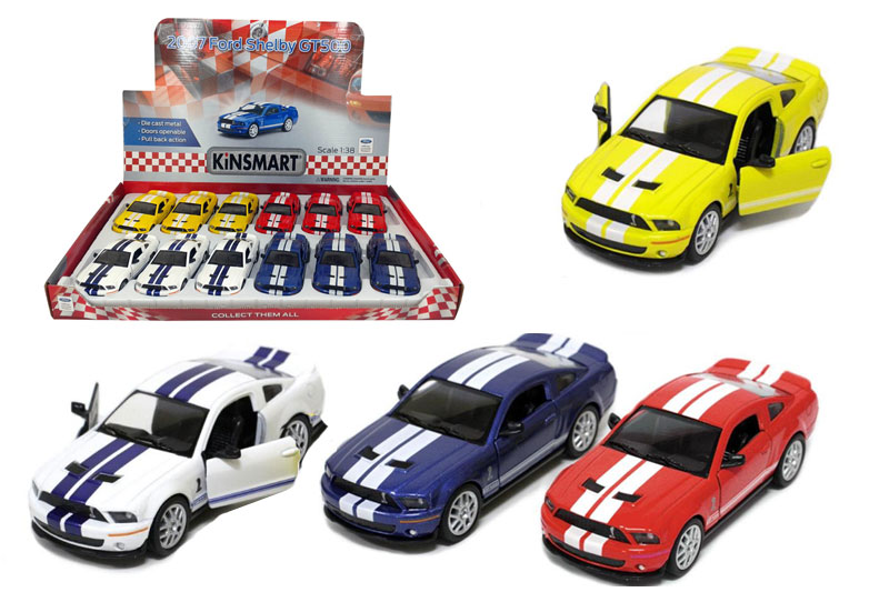 Маш.металл.  KT5310D   FORD Shelby 2007. GT500.Размер.12*5см.откр.двери.