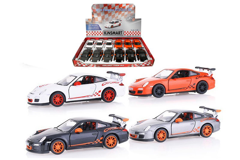 Маш.металл. KT5352D Porsche 911GTS RS.Размер.12*5см.откр.двери.