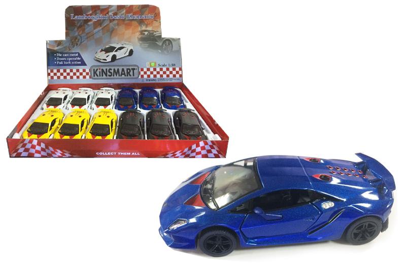 Маш.металл.  KT5359D  Lamborghini Seslo Elemento. Размер.12*5см.