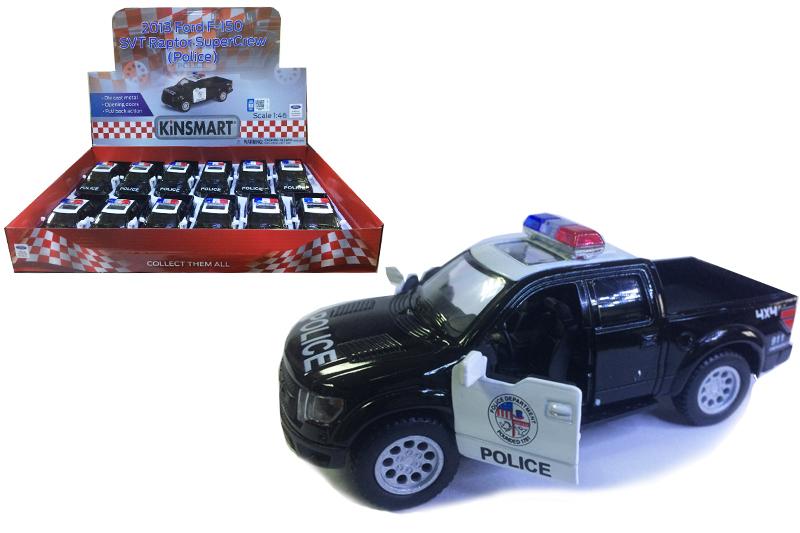 "Маш.металл. KT5365DP  Ford F-150 SVT ""Полиция""Размер.12*5см."