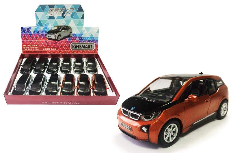 Маш.металл.  KT5380D  BMW i3. Размер.12*5см.откр.двери.