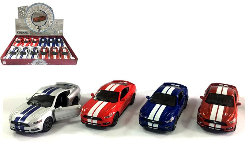 Маш.металл. КТ5386FD  Ford Mustang GT 2015. Размер.12*5см.откр.двери.