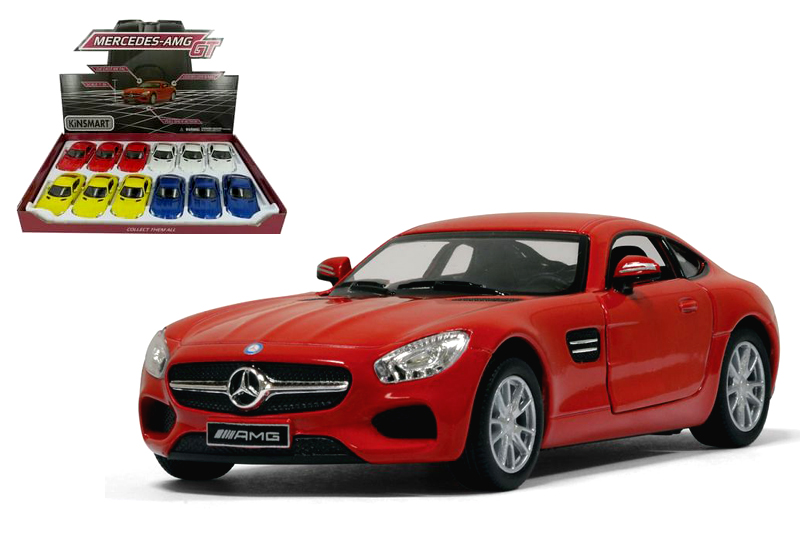 8.Маш.металл.KT5388D   Mercedes-AMG GT. Размер.12*5см.откр.двери.