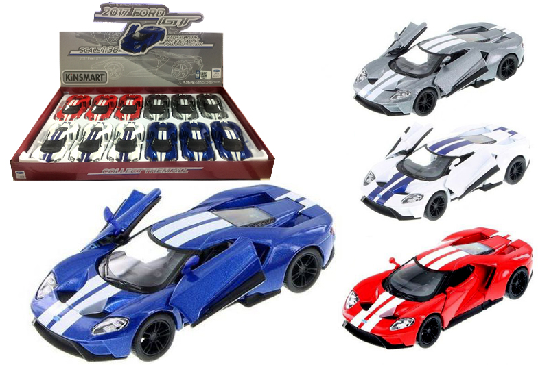Маш.металл.  KT5391FD  FORD GT -PULL. Размер.12*5см.