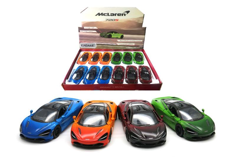 10.Маш.металл. KT5403DG   McLaren720S. Размер.12*5см. откр.двери.