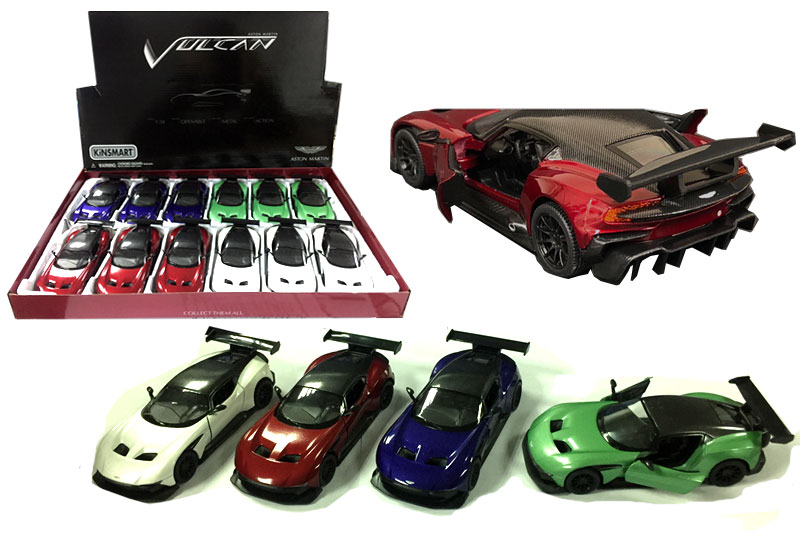 Маш.металл. KT5407D  5″ Aston Martin Vuican.Размер.12*5см.откр.двери.