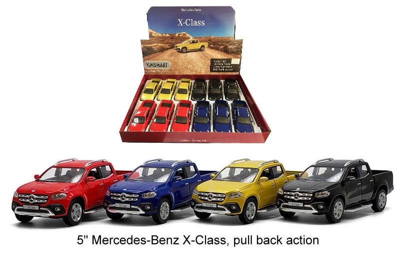 Маш.металл. KT 5410D 5″ Mercedes-Benz X- Class. Размер.12*5см.