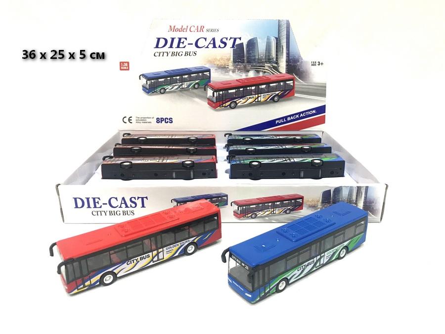 (Д) Автобус металл.инерция.Арт632-27