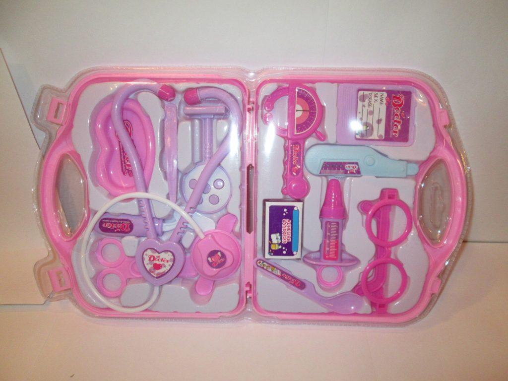 (K) Набор доктора в чемодане(цвет может отличаться)Арт.7769AB/.Размер.22*39*3см.