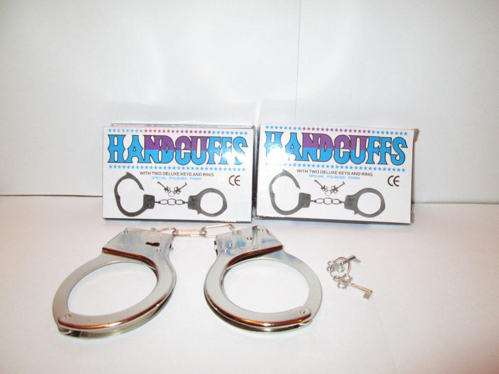 (К)20 Детские наручники(металлические) Арт.368K. Размер упак.11*7см.