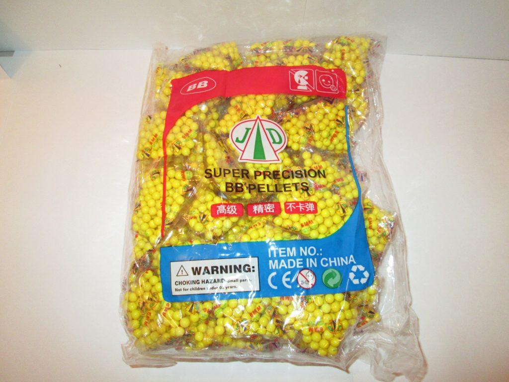 Пластмассовые пульки,в упаковке 60-65 пакетиков.Масса упак.950 грамм.Арт.BB01