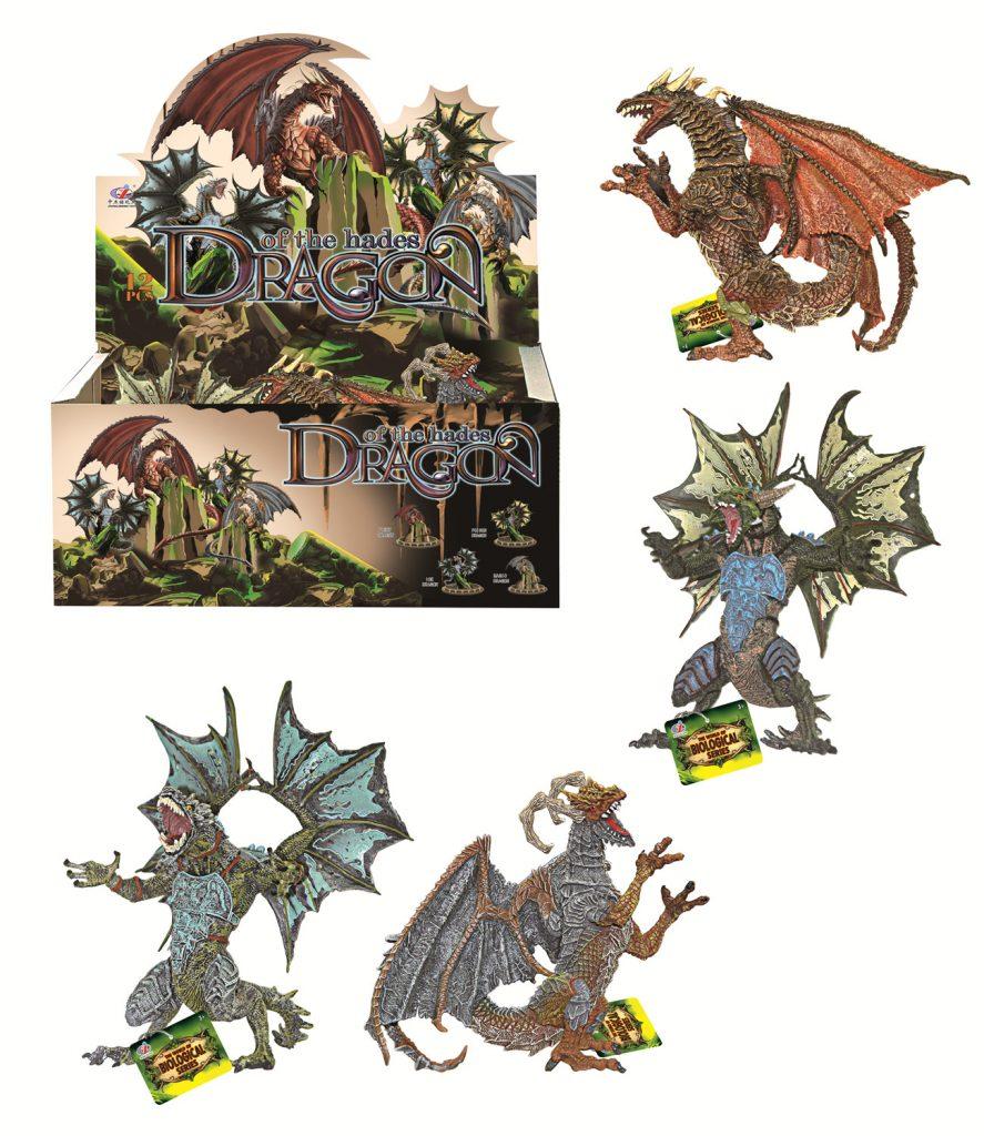 (Д)Драконы в ассортименте.Арт.Q9899-401