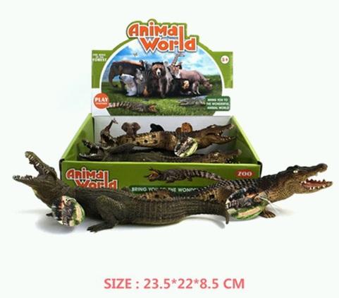 (Д) Крокодил 21см.Арт.TBS031.
