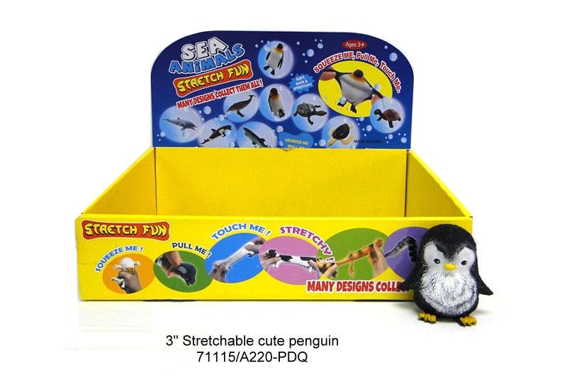 """(П)(С) Пингвин новый""""Животные тянучки""""Арт.A220-PDQ"""