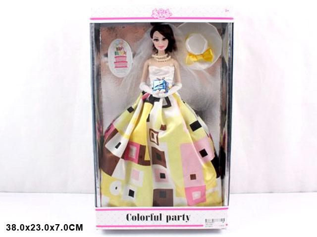 ZZZ. Кукла в бальном платье,в кор.Арт.Д1202